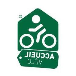 Vitrophanie Accueil à Vélo