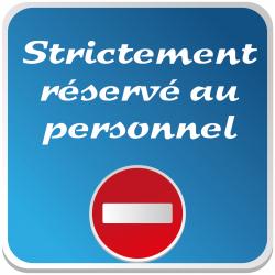 Logo STRICTEMENT RESERVE AU...
