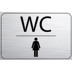 Logo Porte 150 x 100 mm WC...