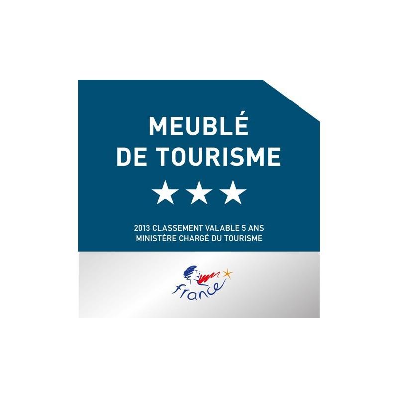 Panonceau De Classement Meuble De Tourisme A Vos Panneaux Signa Etoile 3 Annees 2020