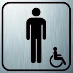 Logo Sanitaire Homme Handicapé