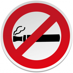 Interdit de Vapoter Sticker...