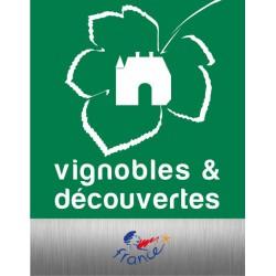 Plaque Vignobles & découvertes