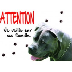 Panneau Attention Chien...