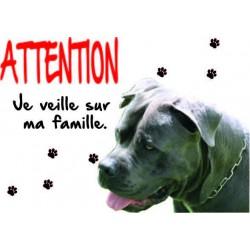 Panneau Attention Chien...
