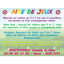 Aire de Jeux Maintenance