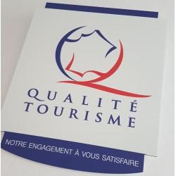 Plaque Qualité Tourisme v.5a
