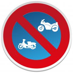 Interdit de Stationner Moto