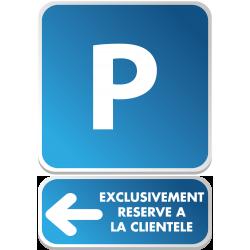 PARKING + flèche exclu...