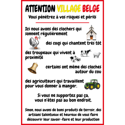 Attention village Belge